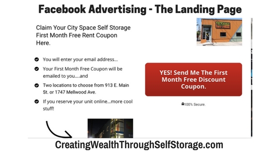 Part 4 u2013 How to Get Started Marketing Your Self Storage Facility on Facebook  sc 1 st  Creating Wealth Through Self Storage & Blog/Training - Page 3 of 18 - Creating Wealth Through Self Storage